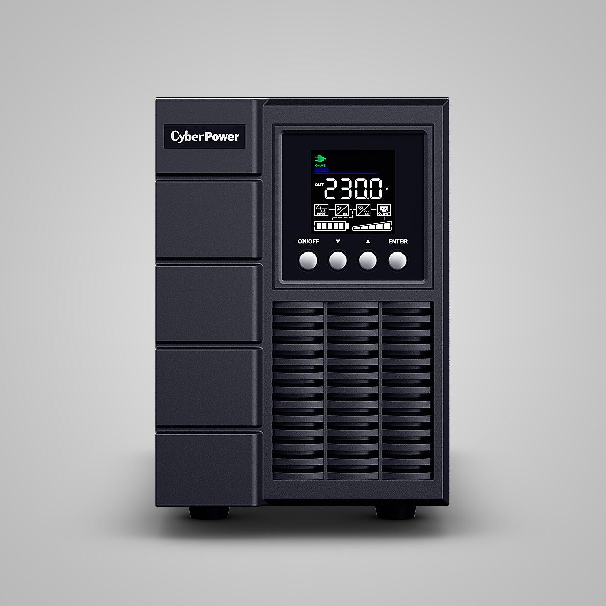 Bộ lưu điện thông minh Sóng Sine CyberPower OLS2000EA - 2000VA/1800W - Công nghệ Online chuyển đổi kép, màn hình LCD màu cao cấp, có thể điều khiển qua mạng - Hàng Chính Hãng