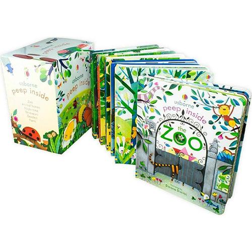Usborne Peep Inside Box Set (Contains 06 Books)