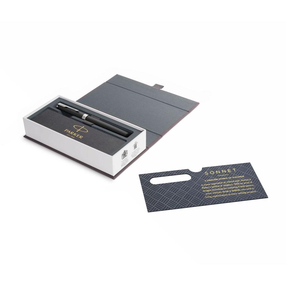 Bút lông bi cao cấp Parker Sonnet X-M Black CT TB-1950884