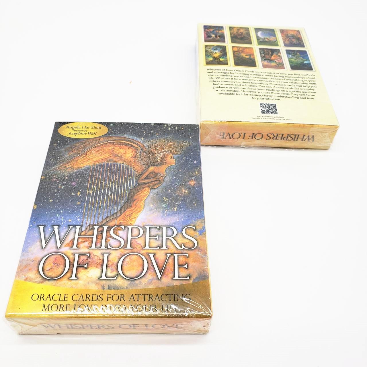Bộ Bài Bói Tarot Whispers of Love Oracle Cards New Cao Cấp