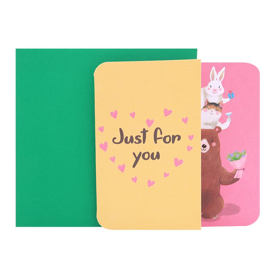 Thiệp tình yêu Just for You