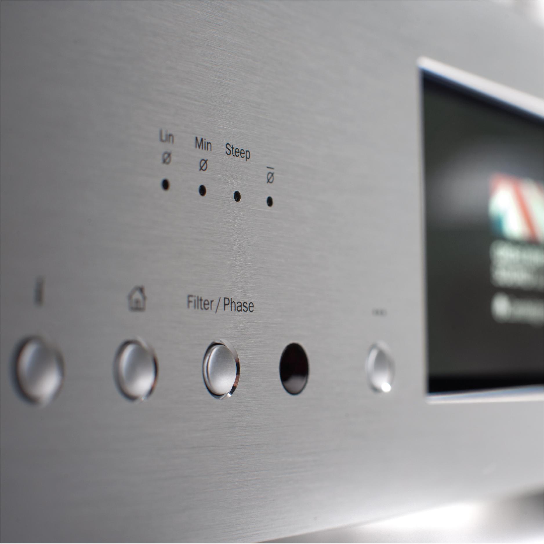 Cambridge Audio Azur 851N Bạc - Hàng chính hãng