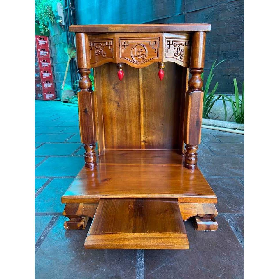Bàn thờ thần tài cột vuông 50cm BTT50CV