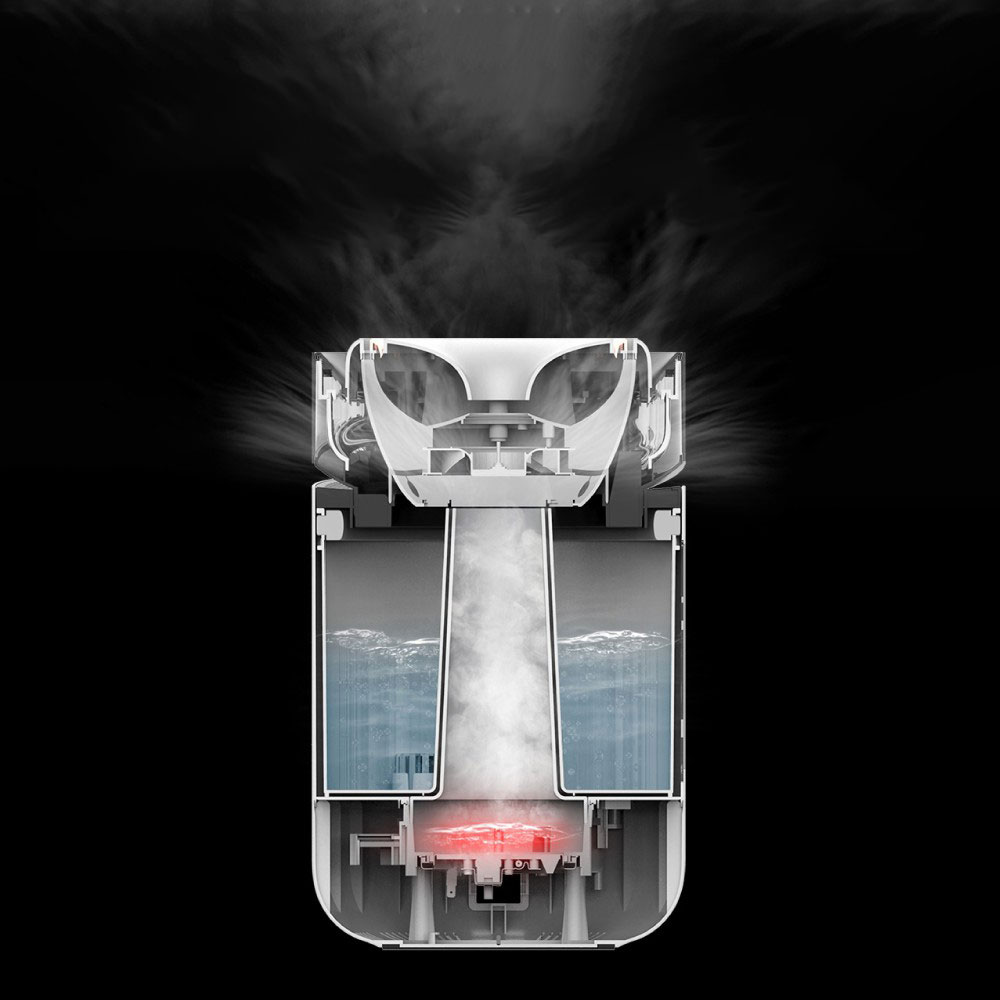 Máy tạo độ ẩm khử khuẩn Xiaomi Deerma DEM-RZ300 - Hàng Chính Hãng