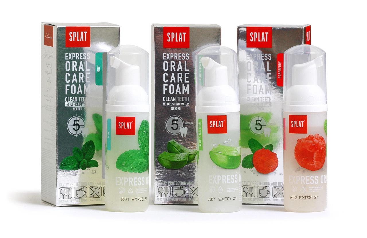 SPLAT ORAL CARE FOAM – Mint (Bọt súc miệng hương bạc hà) (50ml)