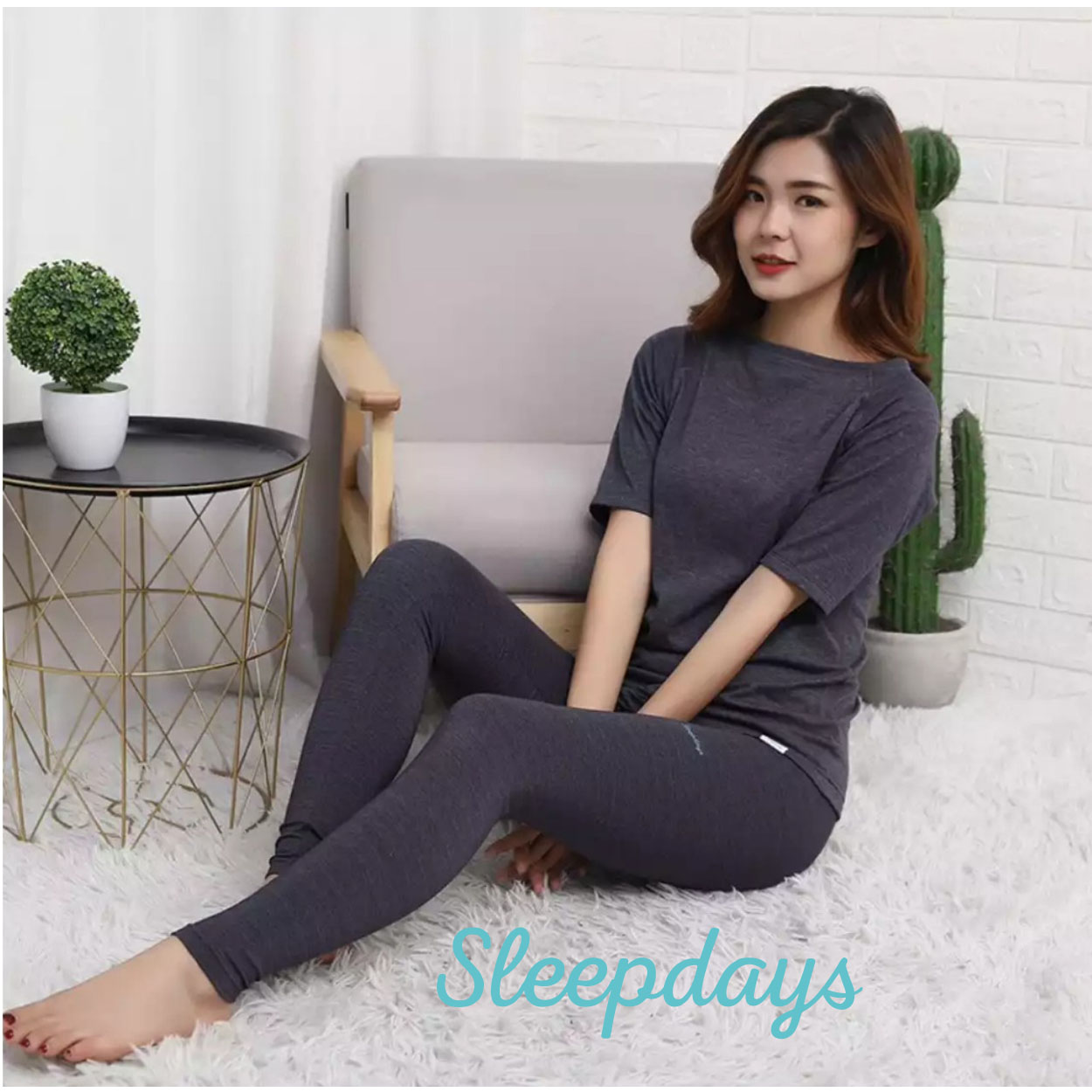 Legging nano Sleepdays Nhật hỗ trợ lưu thông máu thân dưới