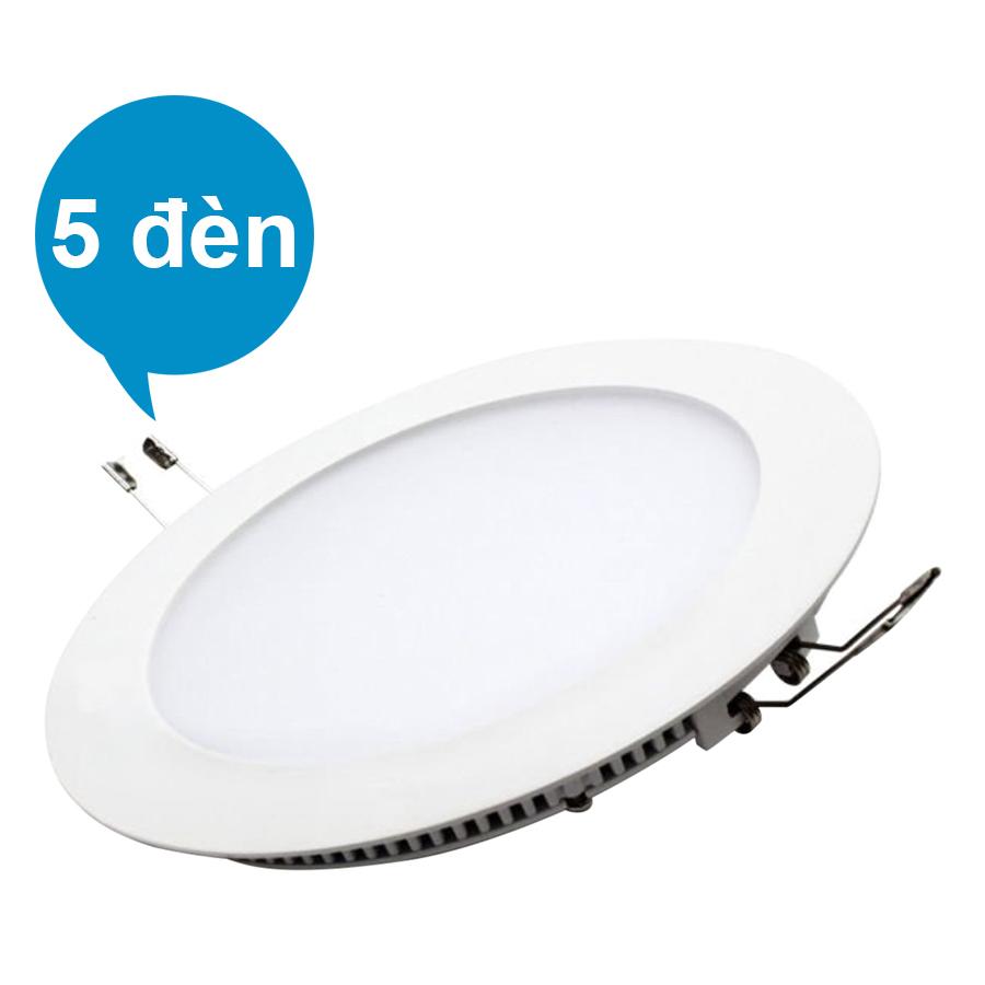 Bộ 5 Đèn LED Âm Trần SUNTEK 15W