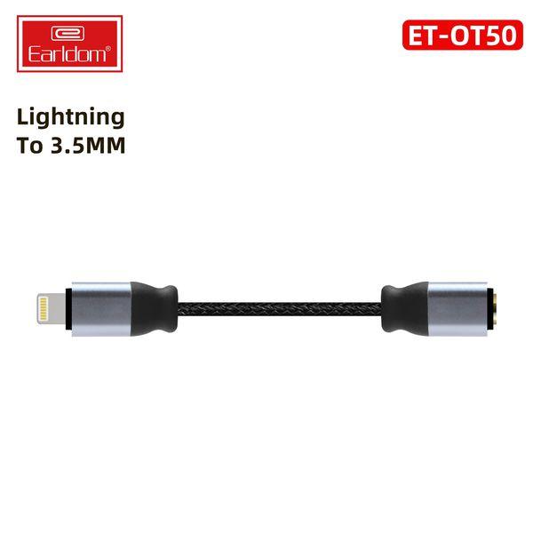 Jack Chuyển Từ Lightning Sang 3.5mm Earldom OT50 - Hàng Chính Hãng
