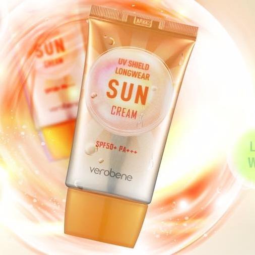 Combo 2 Kem Chống Nắng Lên Tông, Lâu Trôi Verobene Sun Cream Spf 50pa+++ Hàn quốc cao cấp 40ml/Hộp- HÀNG CHÍNH HÃNG