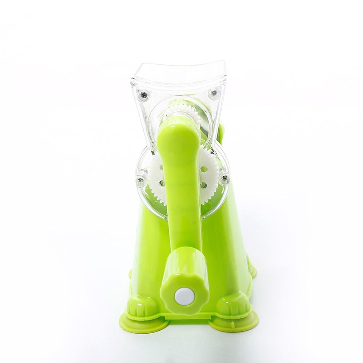 Dụng cụ ép trái cây quay tay cơ học, nhựa cao cấp chống độc hại