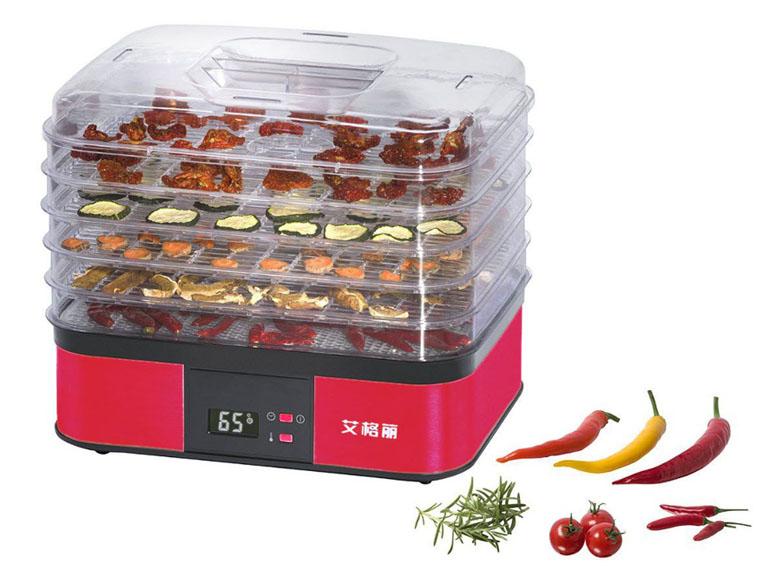 Máy sấy thực phẩm loại 5 khay nhựa cao cấp