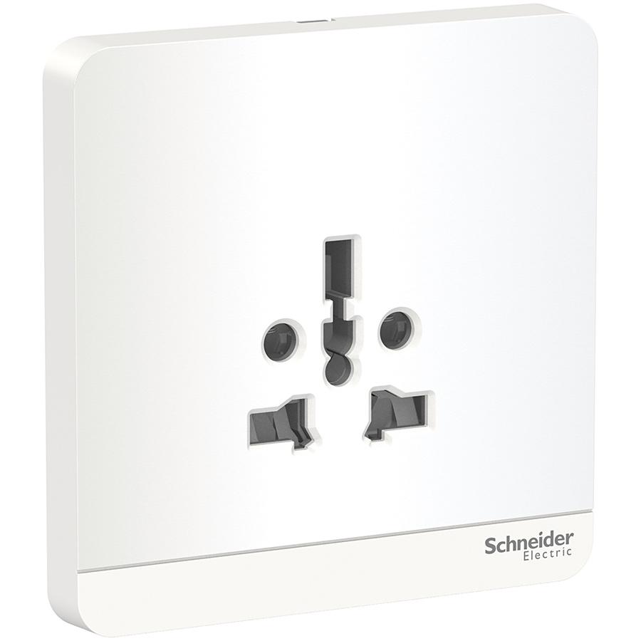 Bộ ổ cắm đơn đa năng 16A, Schneider Electric dòng AvatarOn