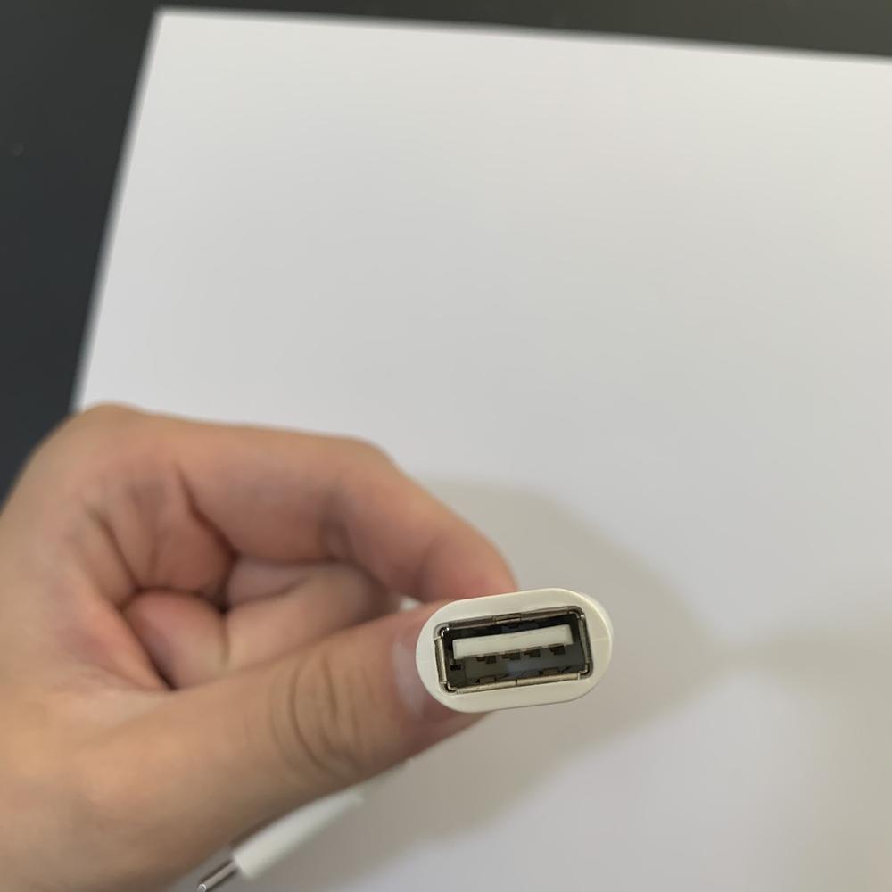 Cáp USB-C to USB Adapter (Trắng)