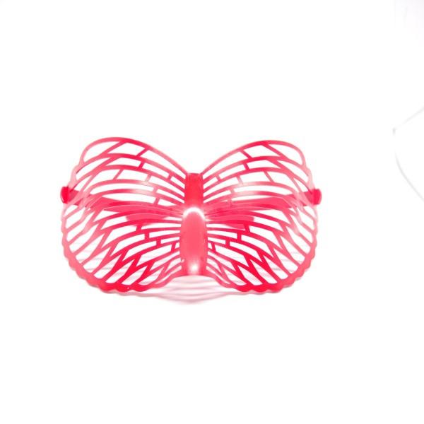Mặt nạ hình bươm bướm - Đỏ