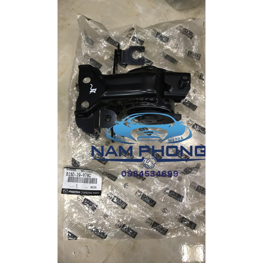 Chân hộp số Laser  Xịn  - B25D39070C , Sử dụng cho các dòng xe Ford Laser  TỪ ĐỜI   2000 – 2005 , XE Mazda Premacy TỪ ĐỜI  2000 – 2005 , RUBBER NO.4,ENG.MTG