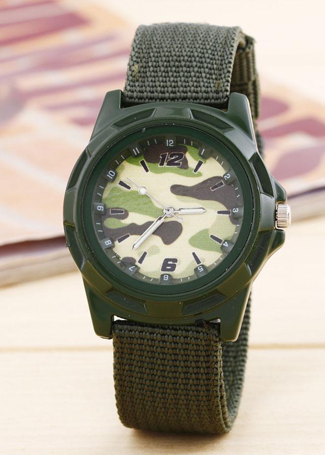 Đồng hồ lính mỹ - Xanh Rêu