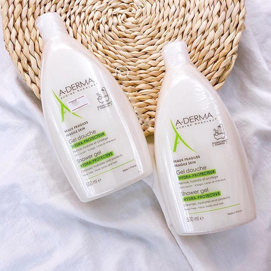 Sữa Tắm A-Derma Giảm Mụn Lưng, Viêm Lỗ Chân Lông 500ml
