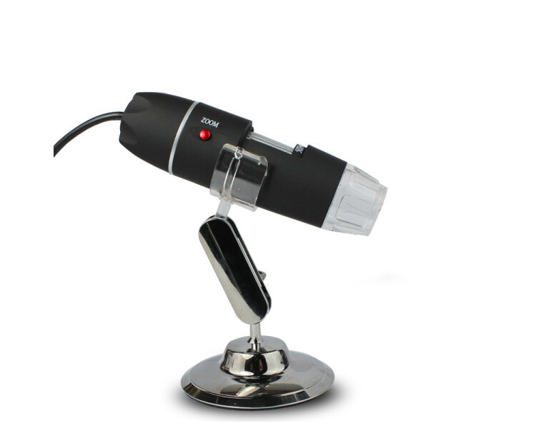 Kính hiển vi điện tử 500X cắm USB có đèn 8 led trợ sáng ( Tặng móc khóa tô vít đa năng )
