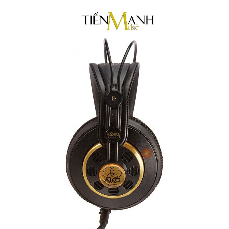Tai Nghe Kiểm Âm AKG K240 Studio Over-Ear Monitor Headphones Professional Hàng Chính Hãng - Kèm Móng Gẩy DreamMaker