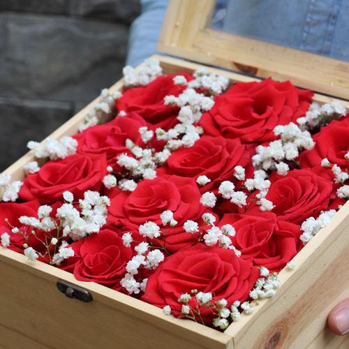 Hộp hoa tươi - Cảm Hứng 4365