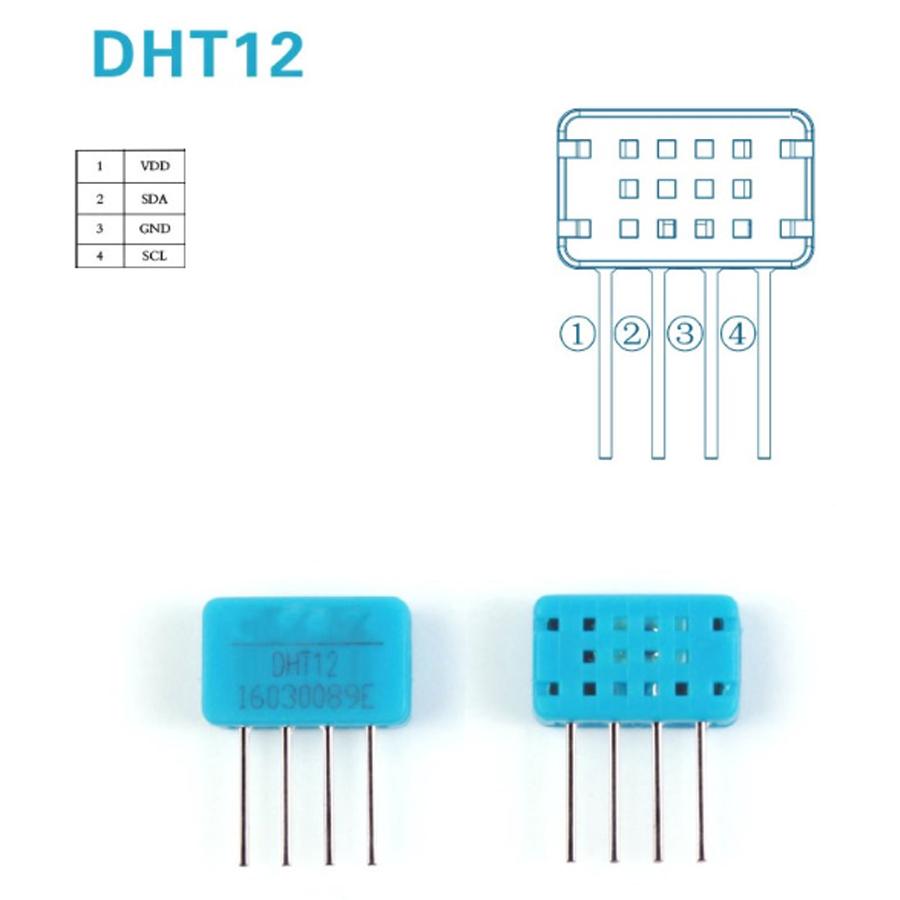 Cảm Biến Nhiệt Độ và Độ Ẩm DHT12