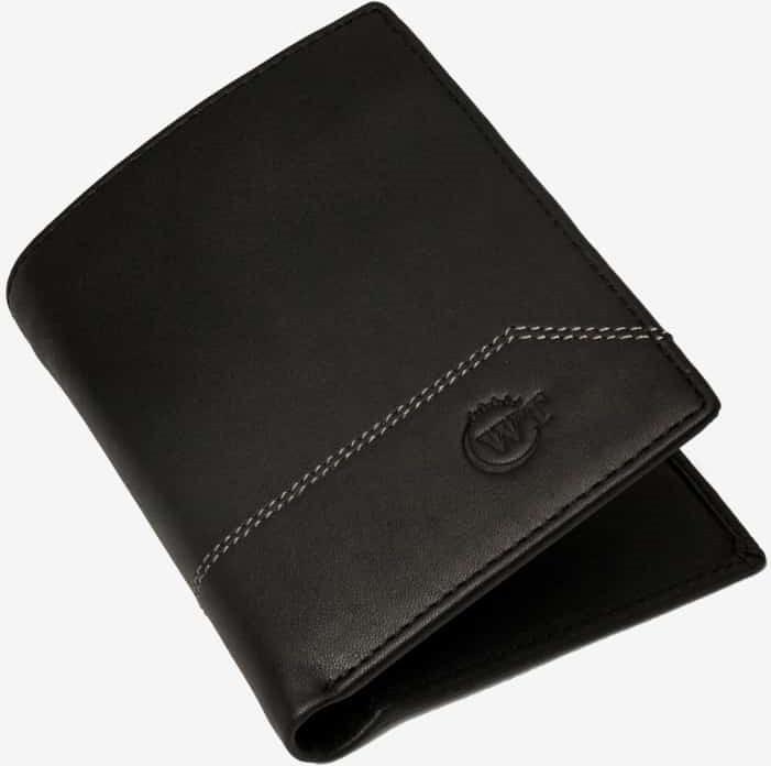 Ví Da Nam Da Bò Cao Cấp Màu Đen WT Leather 0126.2