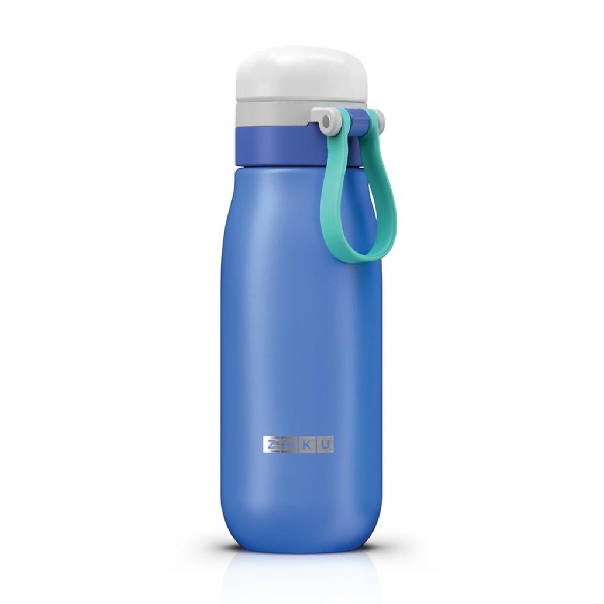 BÌnh nước Zoku Ultralight siêu nhẹ từ Mỹ - 500ml, chống rỉ nước, dễ cầm, dễ sử dụng