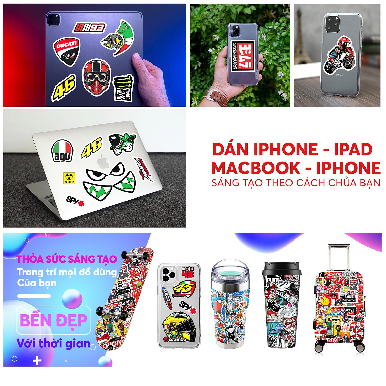 Set 50 Hình Sticker Chủ Đề Độ Mixi