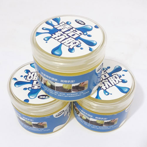 Gel Silicone Làm Sạch Bụi Bẩn Ô Tô Bàn Phím Máy Tính 160g/hộp