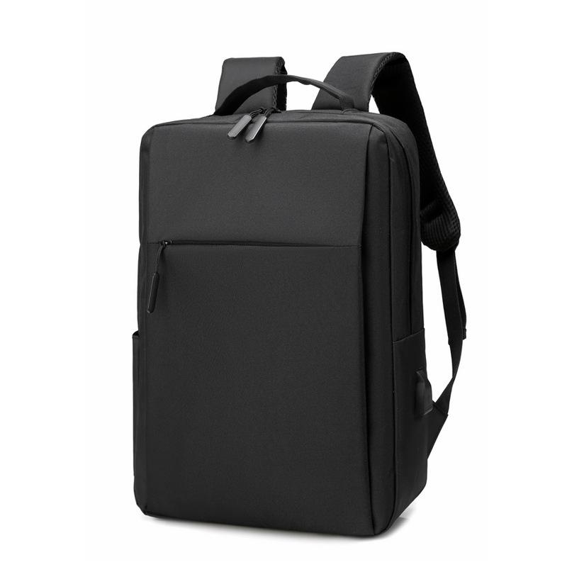Balo công sở, đi làm, đựng laptop, máy tính 13 inch, 14 inch, 15.6 inch, chống sốc dành cho người đi làm, sinh viên, học sinh cao cấp - Màu đen