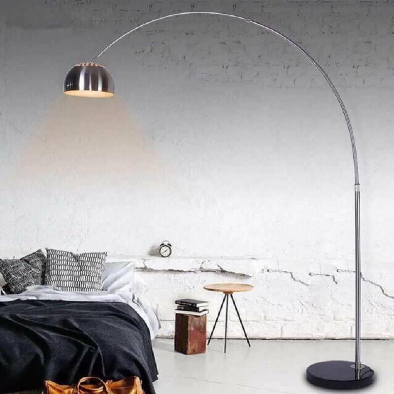 Đèn cây đứng inox, đèn trang trí cao cấp hiện đại