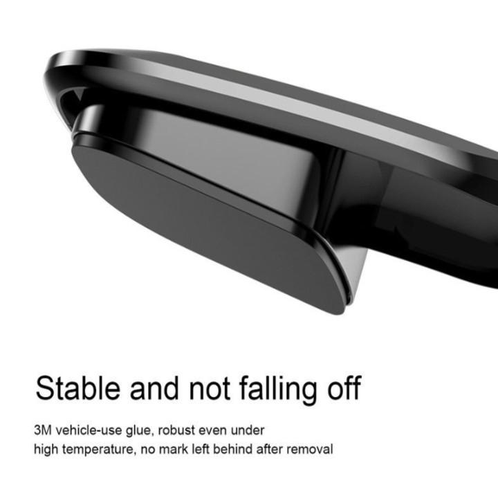 Gía đỡ điện thoại nhãn hiệu Baseus SUYL-F01 gắn taplo ô tô, khả năng xoay 30 độ - Hàng nhập khẩu