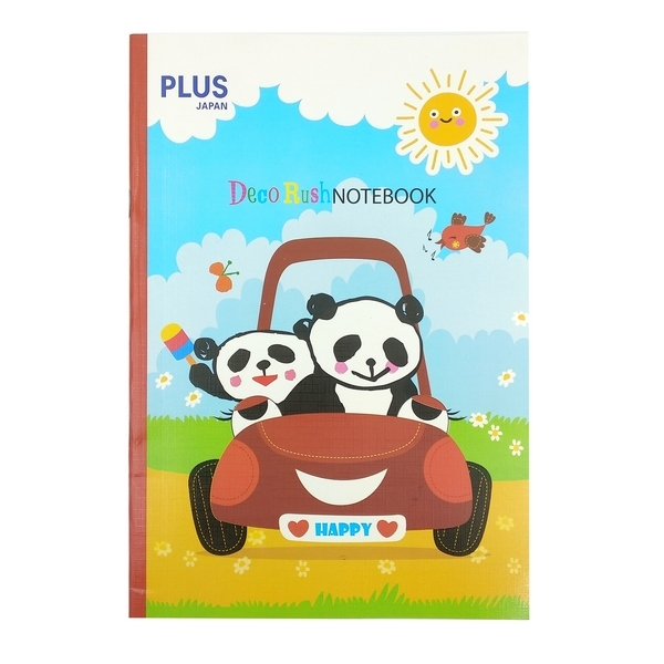 Tập Plus B5 72 Trang Deco Rush 88-V09