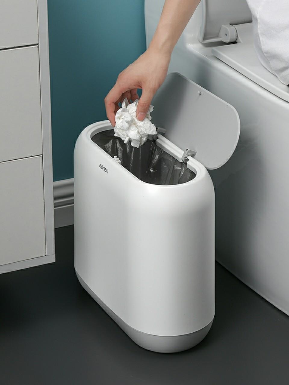Thùng Rác Thông Minh OENON chất liệu nhựa ABS cao cấp