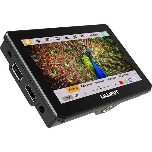 """Màn Hình Lilliput Cảm Ứng 3D Lut T5 5"""" Touch On-Camera HDMI - Chính Hãng"""