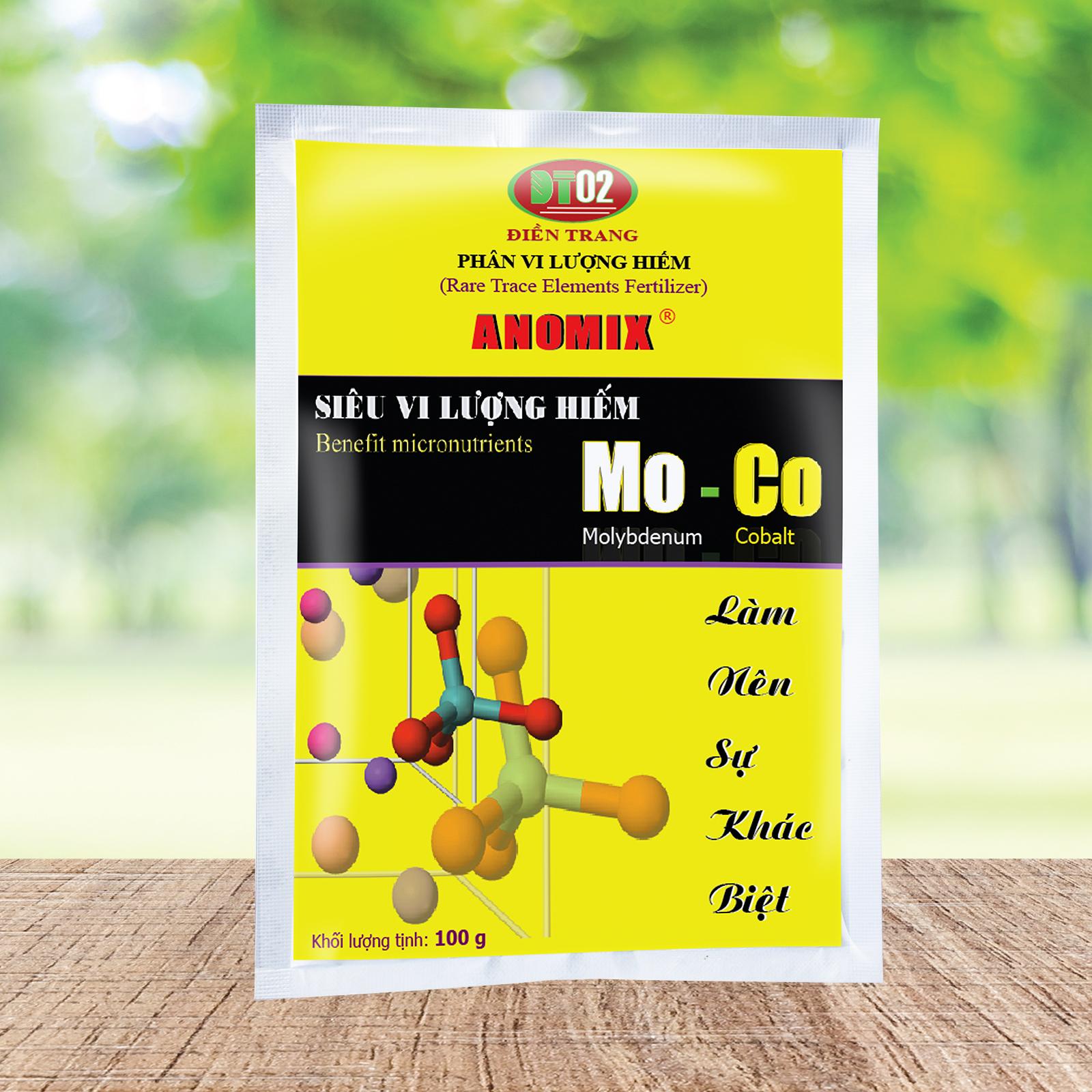 Combo 3 gói Phân Siêu Vi Lượng Hiếm ĐIỀN TRANG Mo-Co 100g