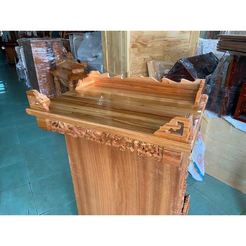 Bàn thờ treo tường Rồng 60cm TTX60RT
