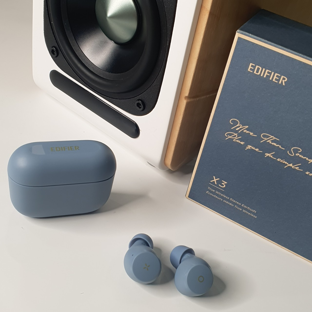 Tai nghe bluetooth true wireless Edifier X3 To-U Xanh (Bản quốc tế) – Hàng chính hãng