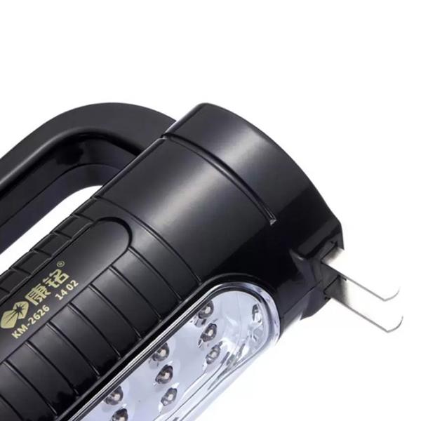 Đèn Pin Đa Năng 2 Trong 1 KM-2626