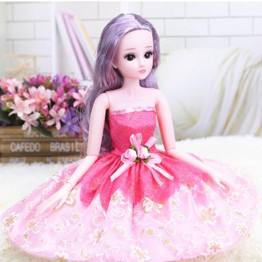 Búp bê công chúa khớp cao 60cm 18 khớp giao màu ngẫu nhiên