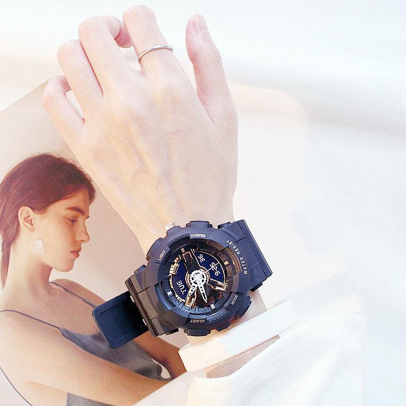 Đồng hồ thời trang nam nữ điện tử phụ kiện đeo tay cực đẹp DH108