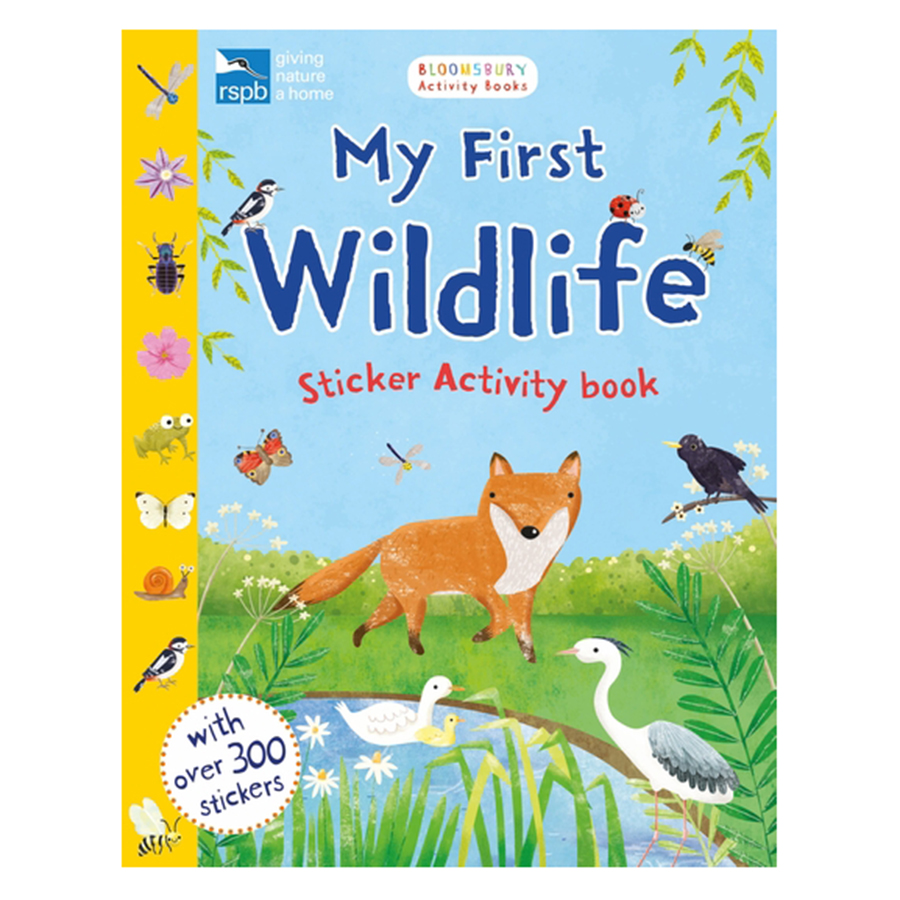 RSPB Garden Wildlife Activity And Sticker Book