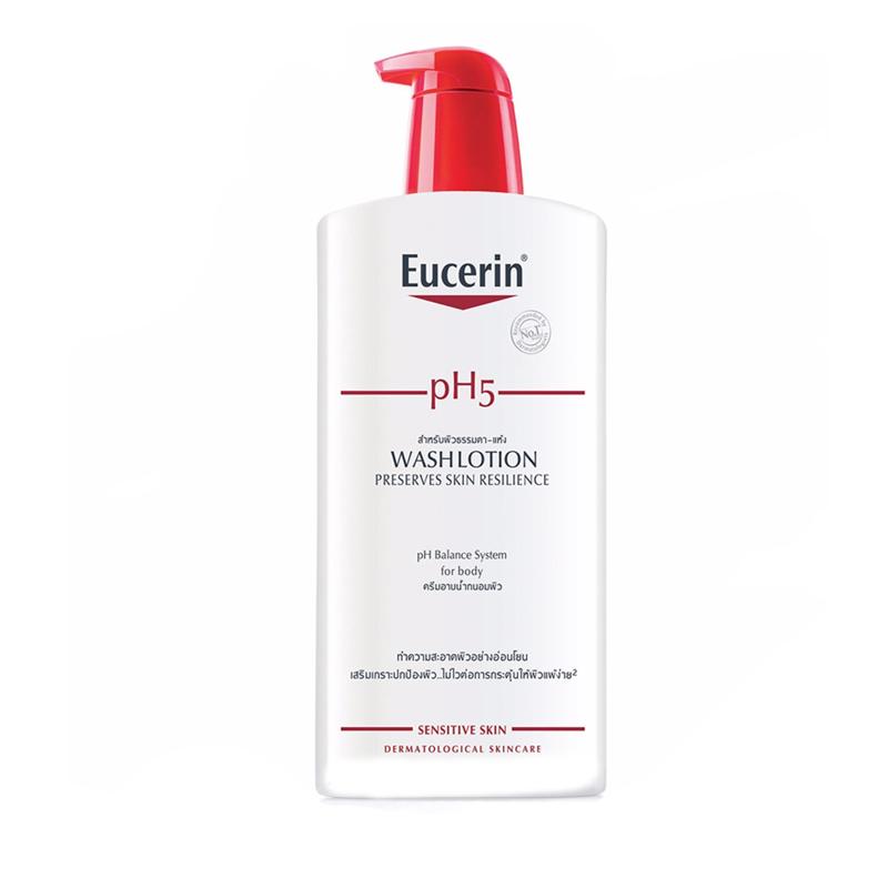 Sữa Tắm cho Da Nhạy Cảm Eucerin pH5 Skin-Protection WashLotion (400 ml)