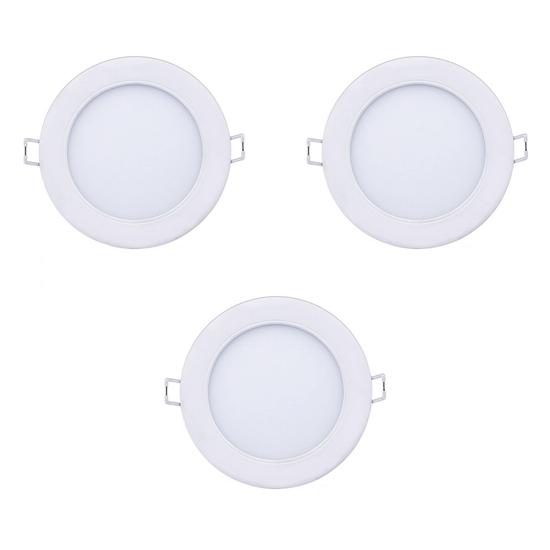 Bộ 3 đèn led downlight âm trần Marcasite 9W 59521 Philips