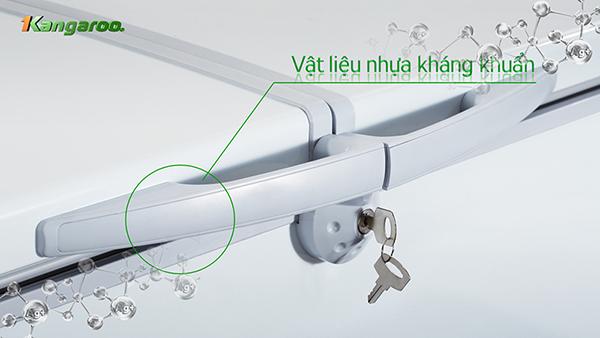 Tay cẩm nổi có khóa giúp tiết kiệm điện năng