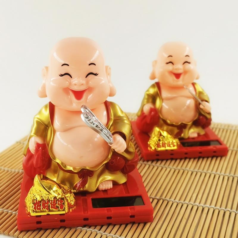 Tượng Phật Di Lặc gật đầu năng lượng