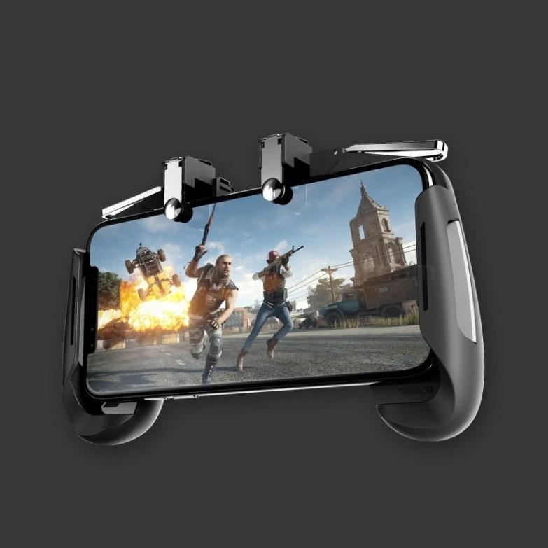 Tay cầm hỗ trợ chơi Game PUBG Mobile Nút Bắn Gpoint Cơ Kim Loại AK16