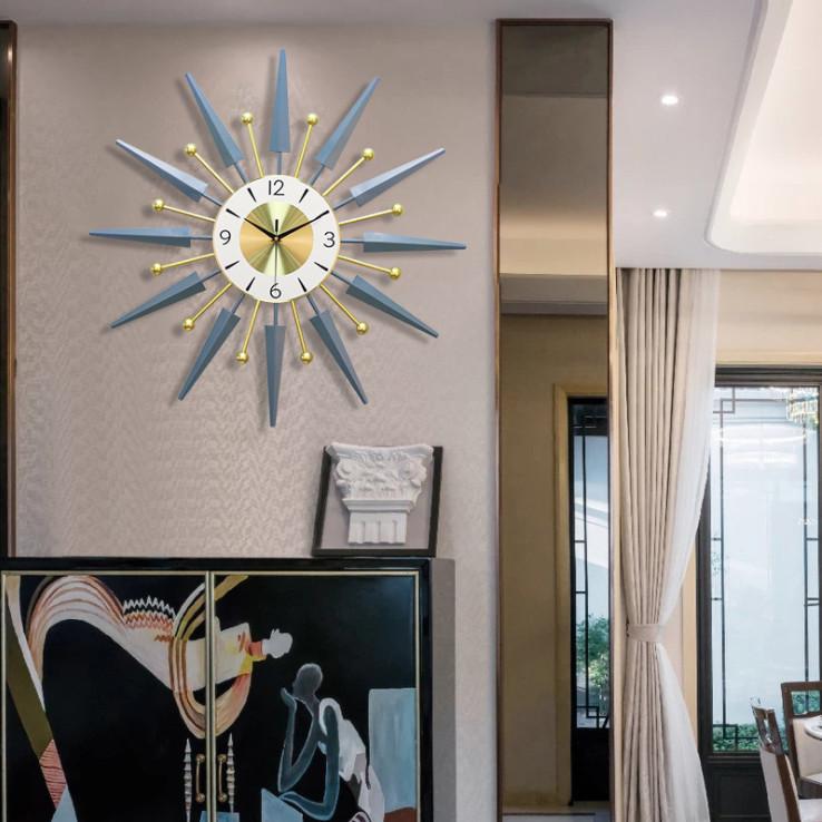 Đồng hồ nghệ thuật treo tường trang trí nhà cửa 3-D-G2-T2812
