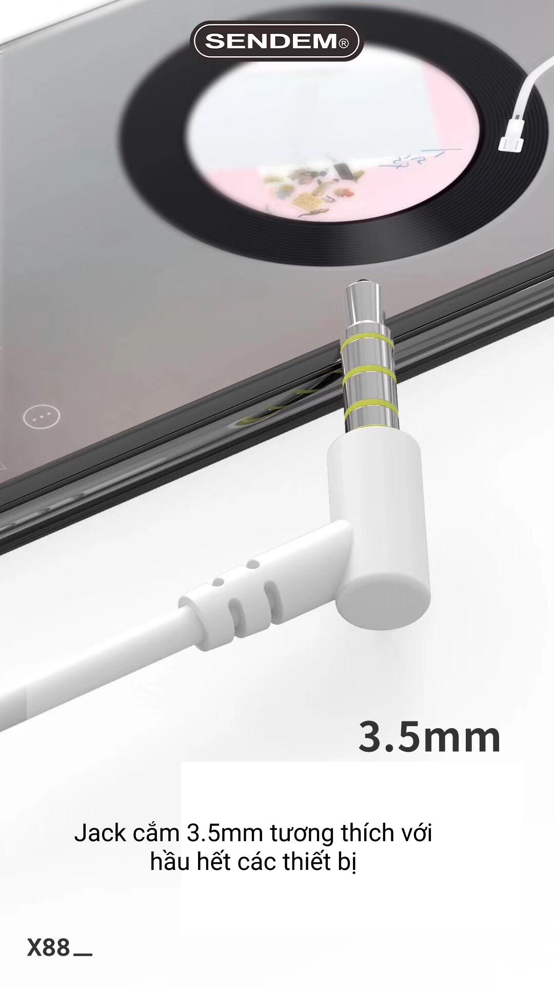 Tai nghe chống ồn hỗ trợ giấc ngủ X88 Chất âm trầm ấm, Thiết kế nhỏ gọn, Công nghệ giảm ồn thông minh - Hàng chính hãng
