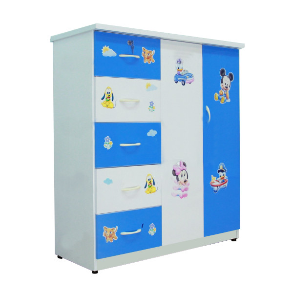 Tủ nhựa đài loan 2 cánh 5 ngăn kéo cao cấp V250
